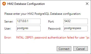 postgresql errors
