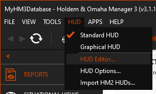 Load the HUD Editor
