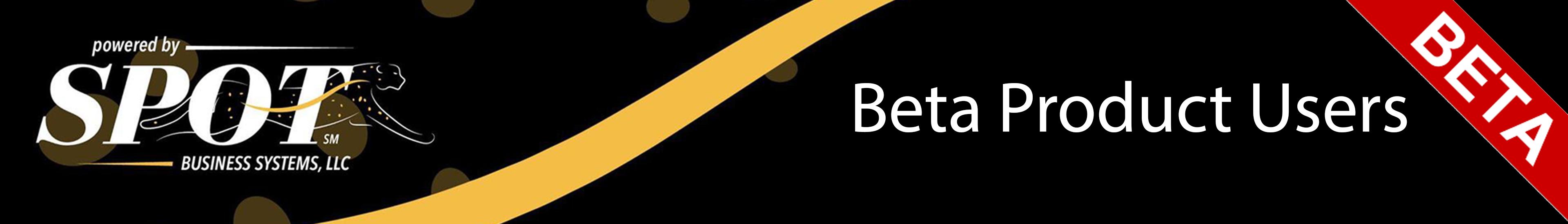 BETA Users Forum